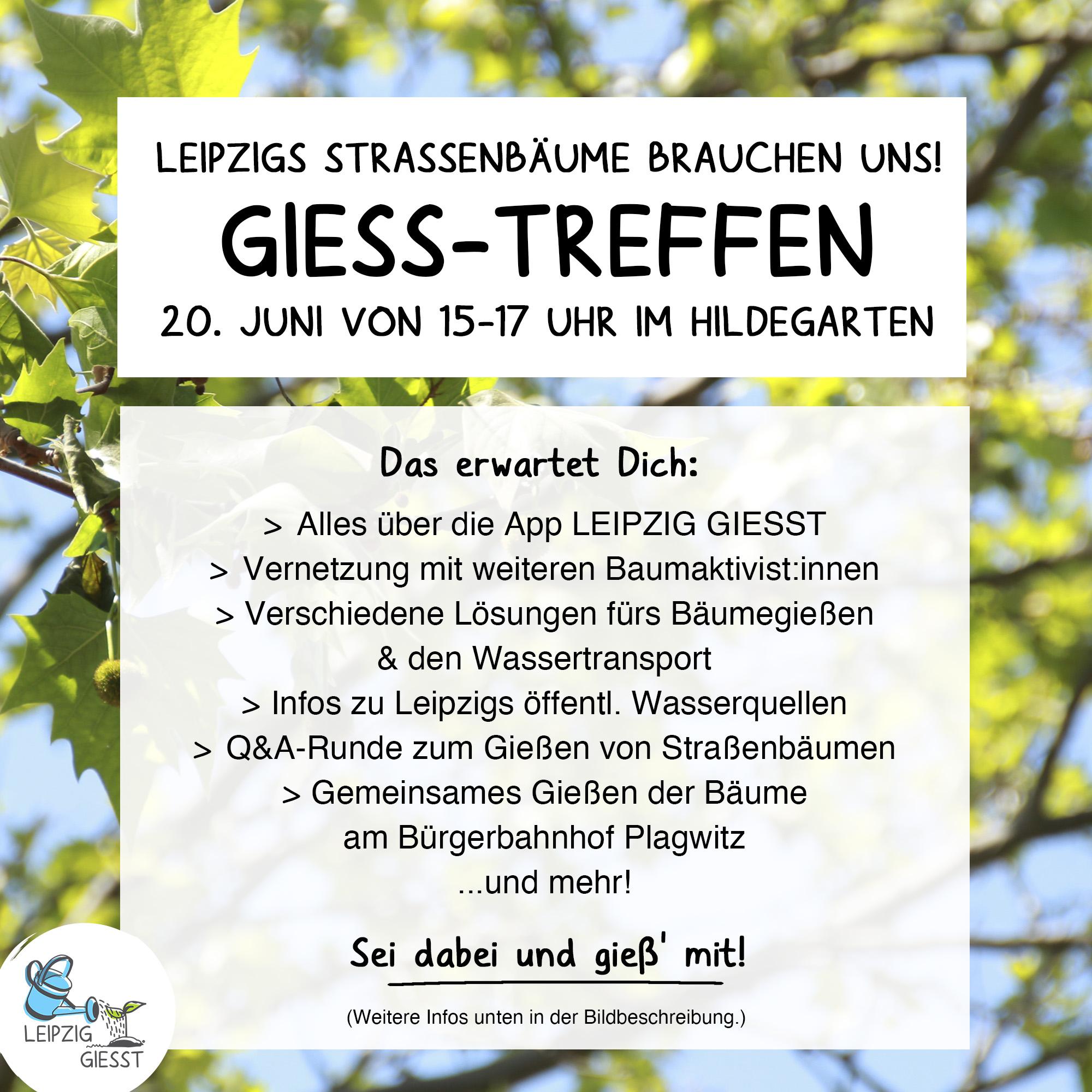 Gieß-Treff Juni